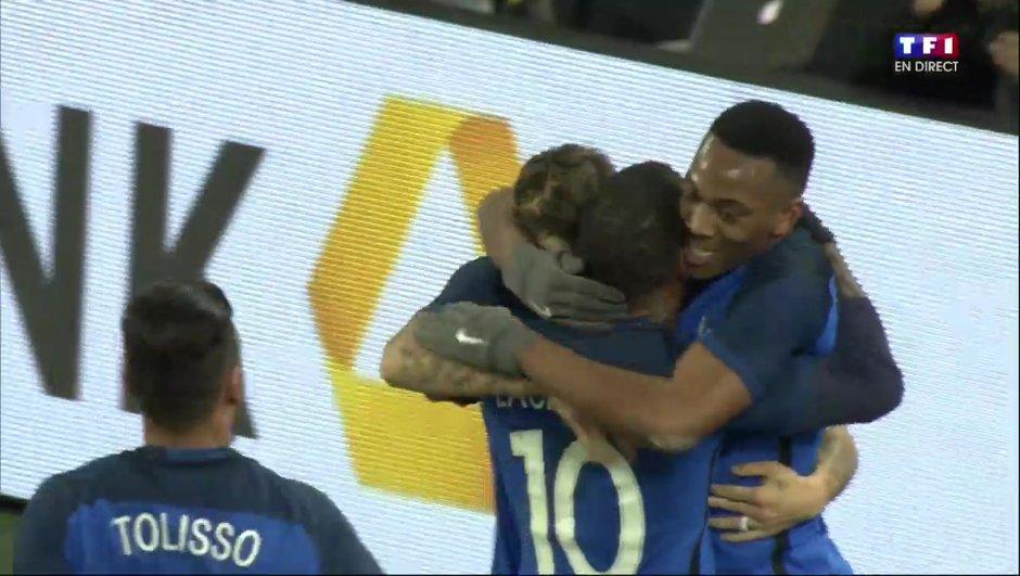 Allemagne-France (0-1) : Lacazette ouvre le score !