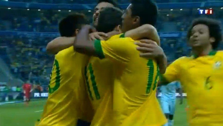 Brésil-France : but de Oscar en vidéo, 1-0 (54è)