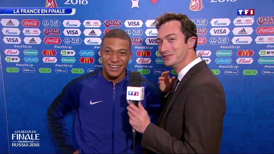 """Kylian Mbappé : """"Je n'ai pas les mots"""""""