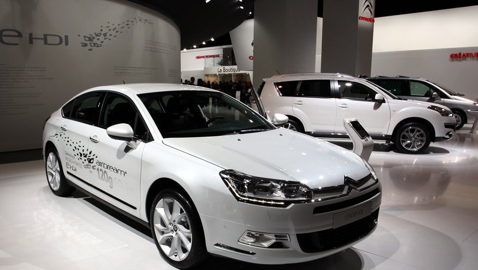La Citroën C5 se remaquille pour le Mondial de l'Auto 2010