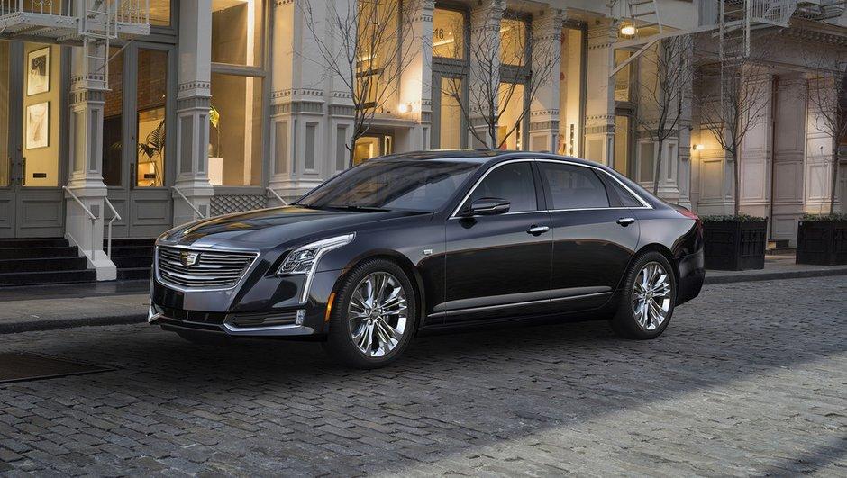Salon de New York 2015 : Cadillac CT6, le nouveau vaisseau amiral américain