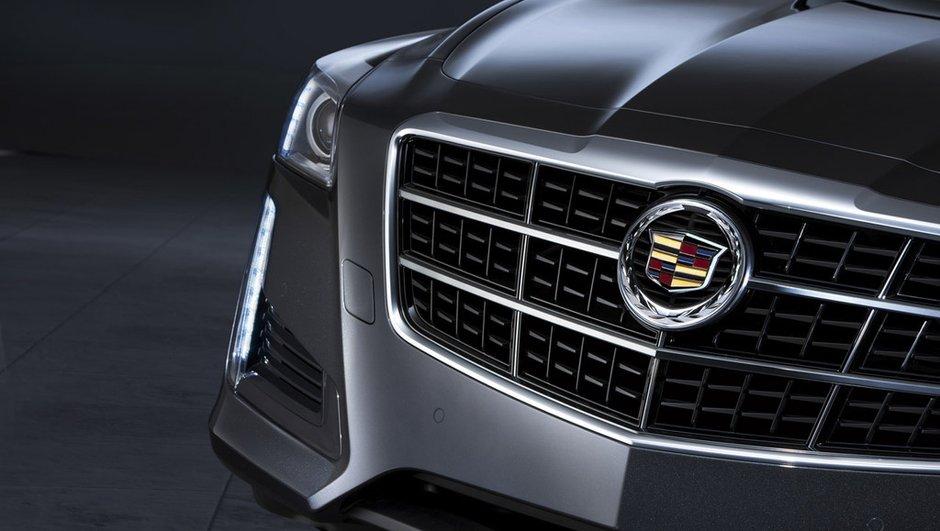 Salon de New York 2013 : la nouvelle Cadillac CTS se préfigure