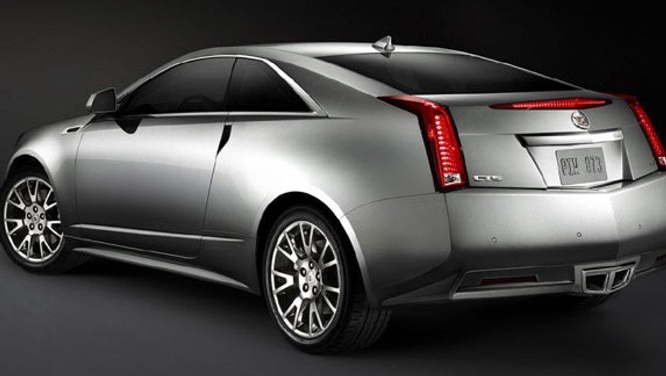 La Cadillac CTS Coupé présentée au salon de Los Angeles
