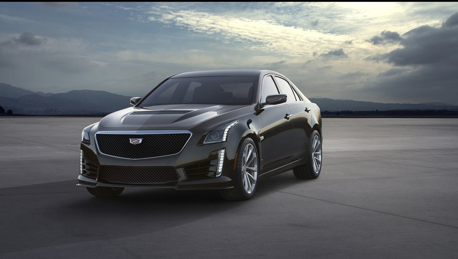 Cadillac CTS-V 2016 : La berline expose ses muscles pour Detroit !