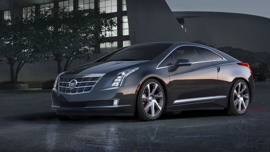 Salon de Détroit 2013 : nouvelle Cadillac ELR, la Volt luxe ?