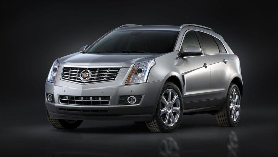Salon de New York 2012 : Cadillac SRX restylé
