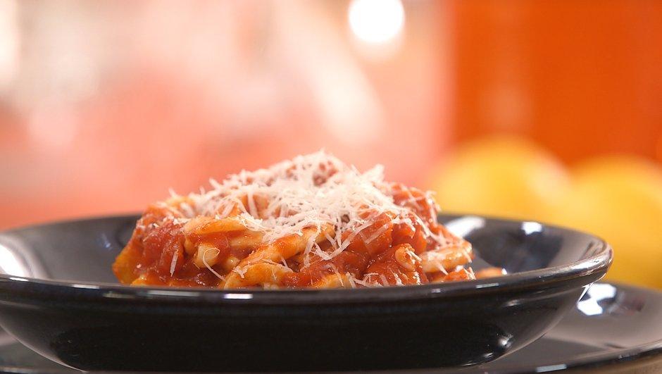 Spaghetti de calamars all'arrabbiata