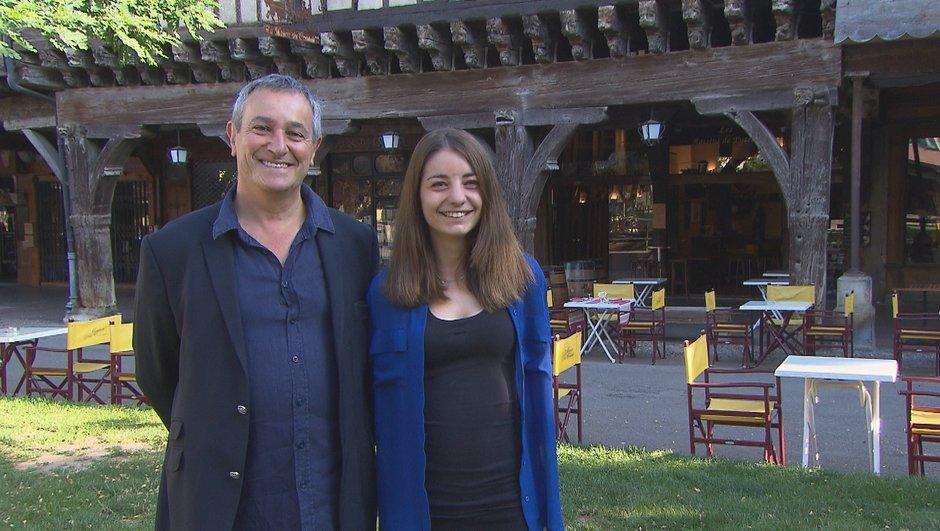 Camille et Bernard, les candidats du lundi !