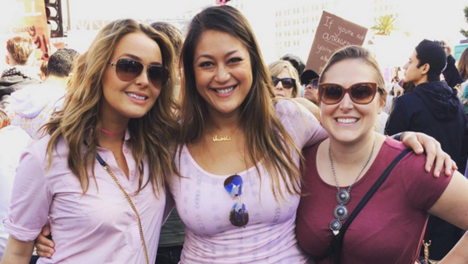 Grey's Anatomy : Ellen Pompeo, Camille Luddington... les actrices présentes à la Women's March !