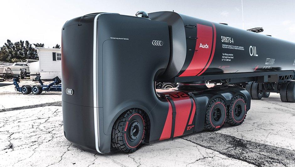 Des camions Audi dans les cartons ?