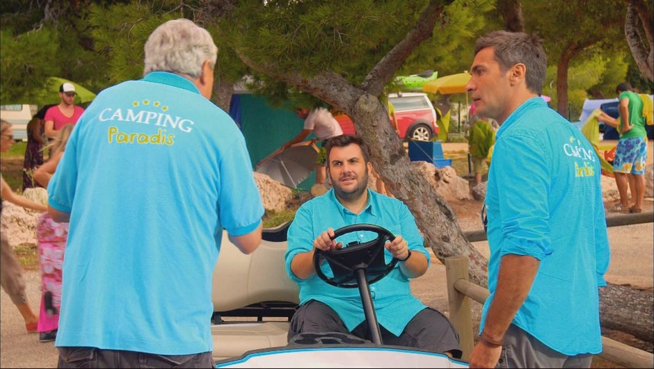 "Camping Paradis : Vidéo - Les premières minutes de ""Western camping"""