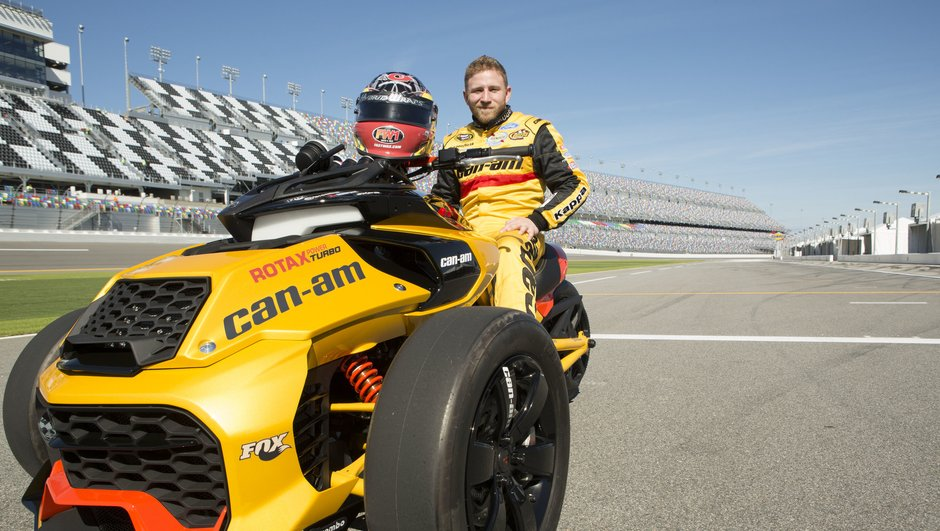 Le Can-AM Spyder F3 Turbo Concept : l'influence du Nascar