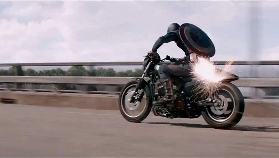 """Découvrez la Harley Davidson 750 Street dans le nouveau """" Captain America """""""
