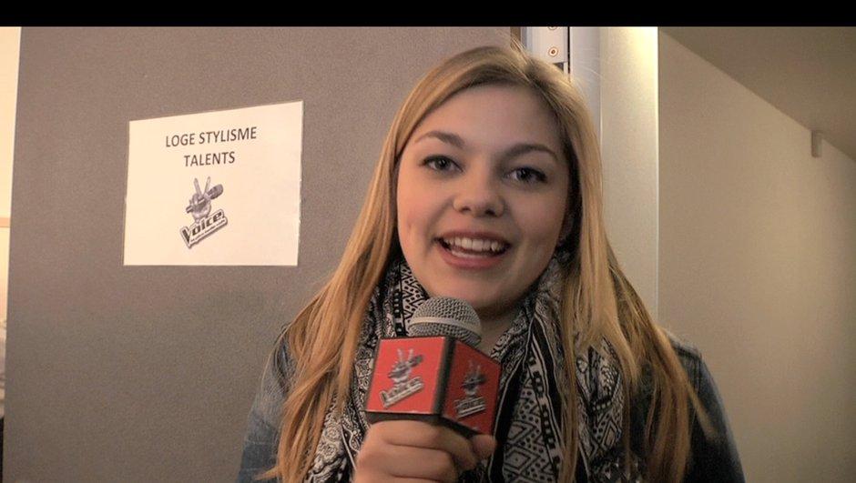 The Voice : quand Louane remercie Marianne, une fan de 28 ans