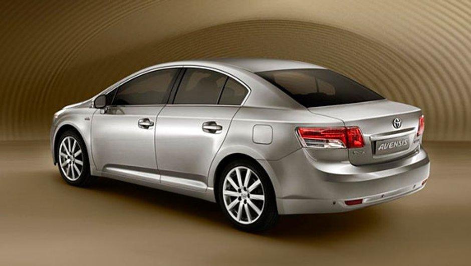 Mondial 2008: Toyota présentera sa nouvelle Avensis