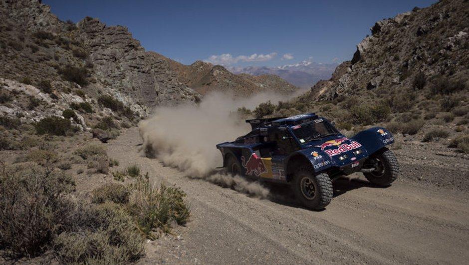Dakar 2014 - 4e étape Auto : Sainz refait son retard