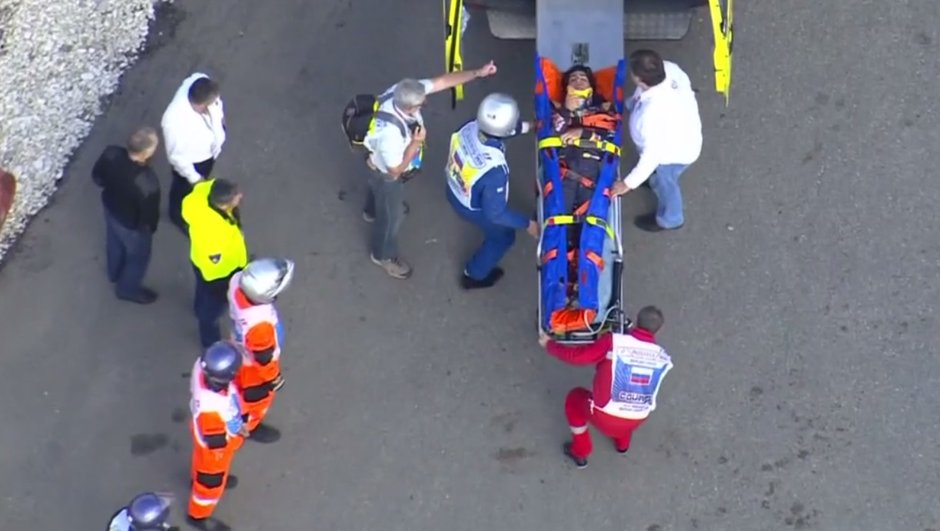 F1 - Essais 3 GP Russie : violent accident de Carlos Sainz Jr., non blessé
