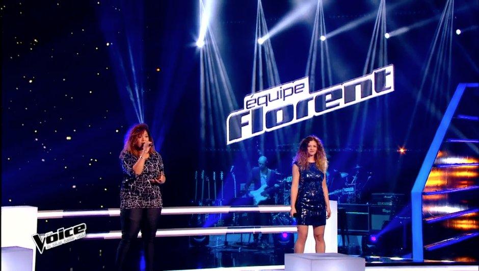 """The Voice 4 - BATTLES : Carole-Anne et Maliya Jackson éblouissantes sur """"Eblouie par la nuit"""" de Zaz"""