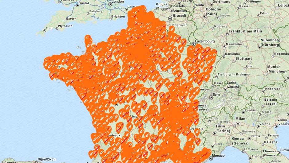 Pénurie de carburant : Plus de 4.000 stations en rupture. Où trouvez de l'essence ?