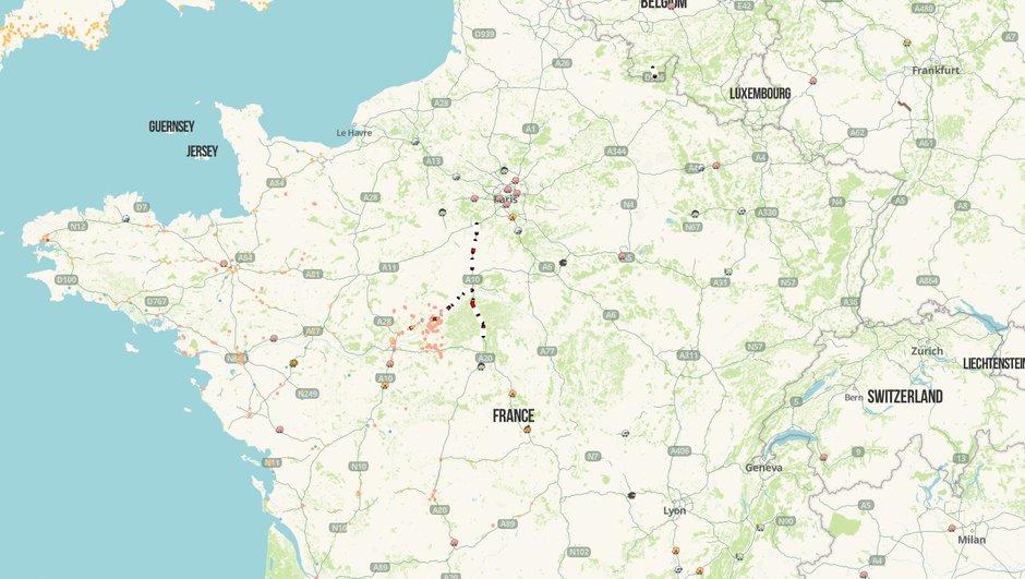 Maj Inondations Consultez La Carte Des Routes De France En Temps