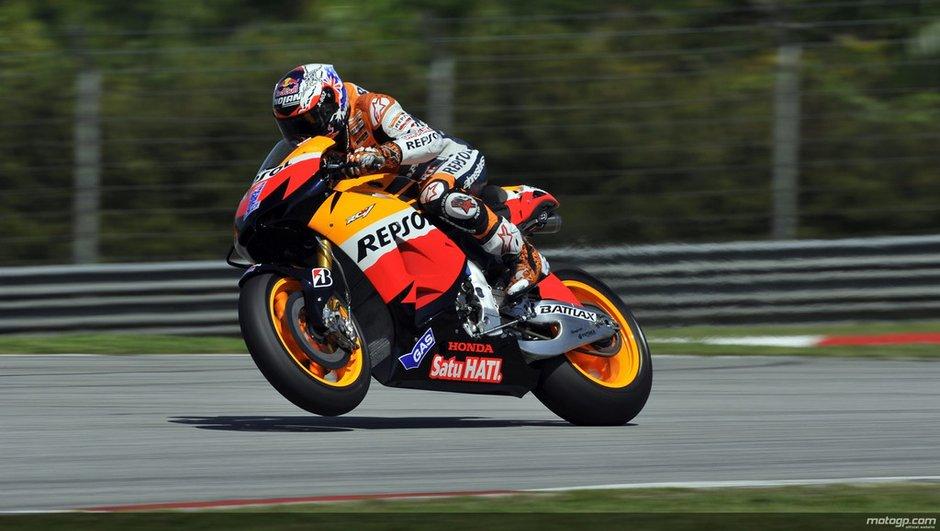 MotoGP - essais Sepang 2012 :  Stoner devant Pedrosa
