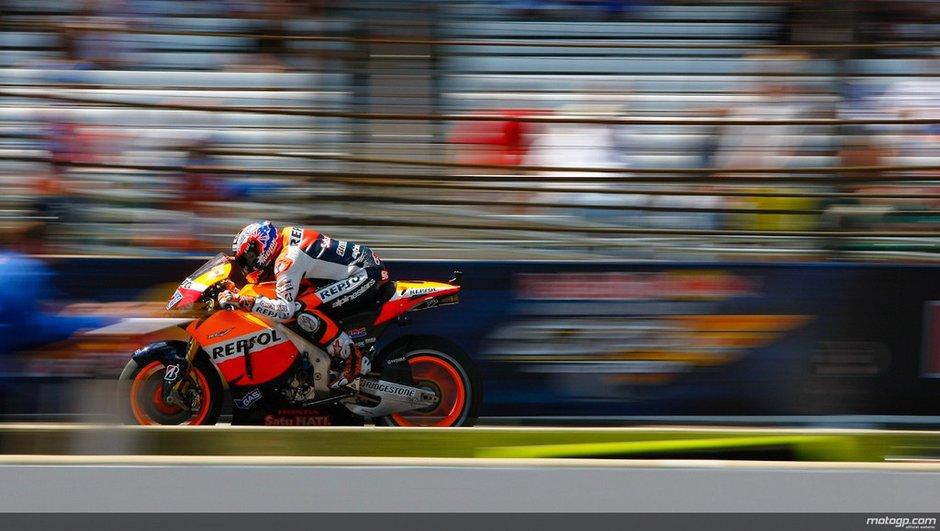 MotoGP Australie : Casey Stoner en pole devant Lorenzo et Simoncelli