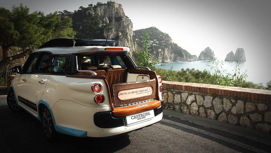 Castagna Milano transforme la Fiat 500L en taxi insolite