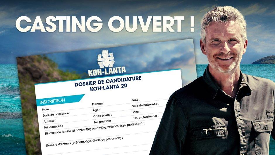 Ame d'un aventurier : Le casting de Koh-Lanta 20 est ouvert !