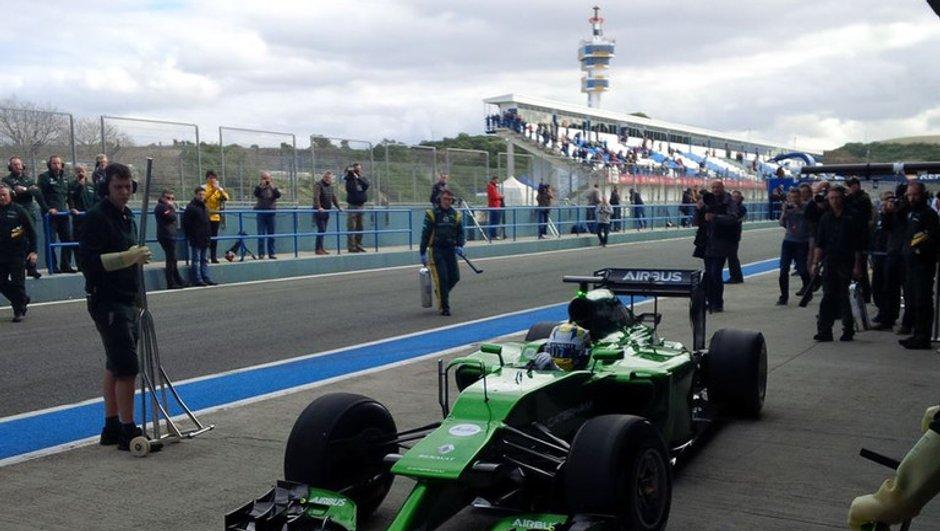 F1 2014 : Caterham dévoile (enfin) sa CT05