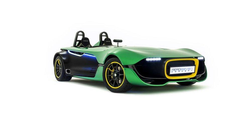 Caterham AeroSeven Concept 2013 : la Seven du XXIè siècle