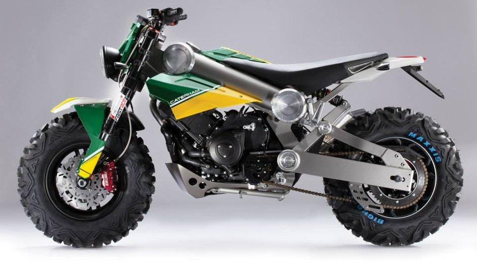 EICMA 2013 : Caterham Brutus 750, le SUV des motos ?