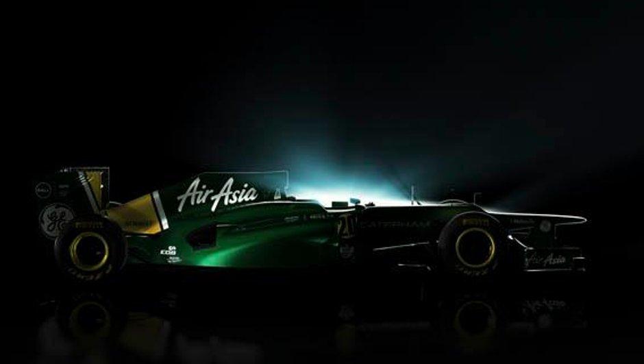 F1 : la Carterham CT01 en photo !