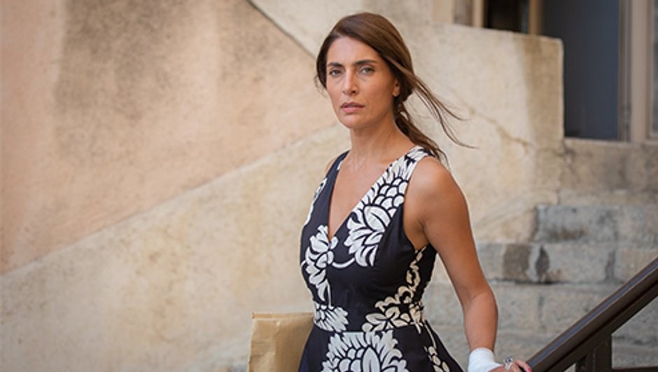 """Le temps est assassin - Caterina Murino : """"Palma est une guerrière"""""""