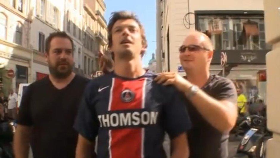 OM-PSG : Quand Cauet donne un gage à un supporter parisien
