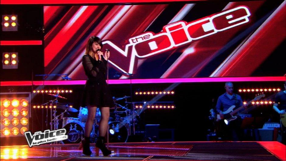 The Voice: Cécilia Pascal a interprété Lady Gaga et les coachs ont....
