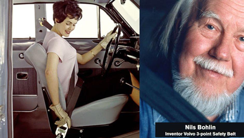 Volvo fête les 50 ans de sa ceinture de sécurité à 3 points