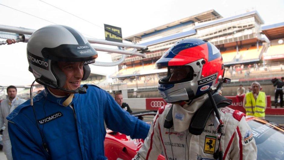 Vincent Cerutti parcourt le circuit des 24h du Mans pour Automoto Dimanche 1er mai sur TF1
