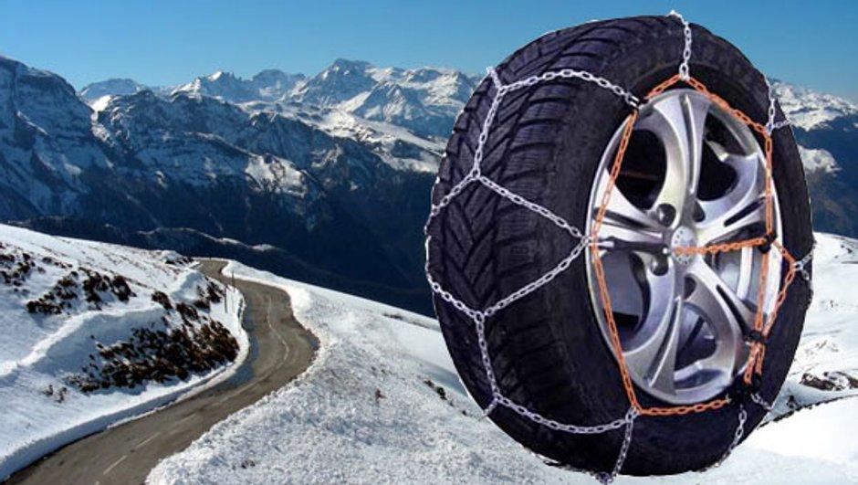 Equipez vos pneus pour rouler tranquilement sur la neige !