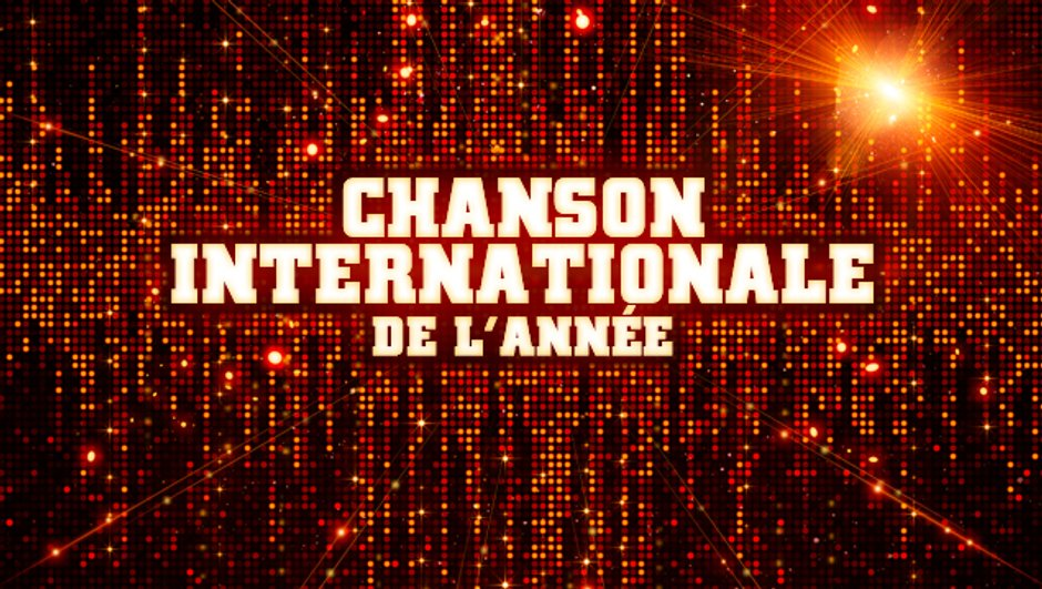 Chanson Internationale de l'année - Pré-nominations - NRJ Music Awards 2013