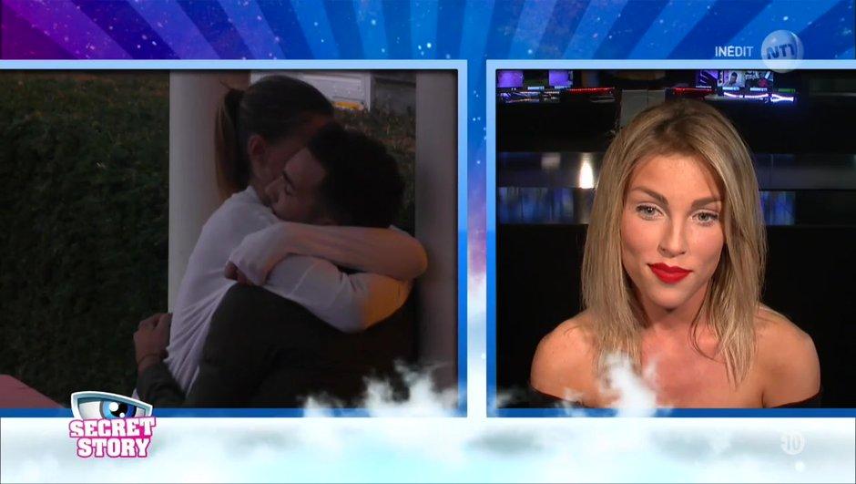 Secret Story 11 : Charlène face aux images de Benoît et Barbara