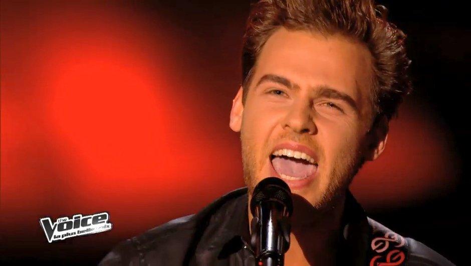 "The Voice 3 - Replay : Charlie revisite Johnny sur ""Que je t'aime"""