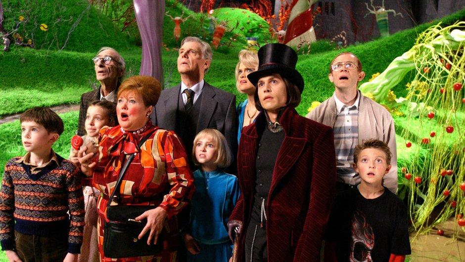 Soirée cinéma sur TF1 avec Charlie et la Chocolaterie, ce mardi 30 décembre 2014 à 20h55