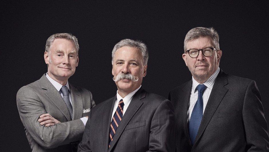 Et voici les 3 nouveaux patrons de la F1