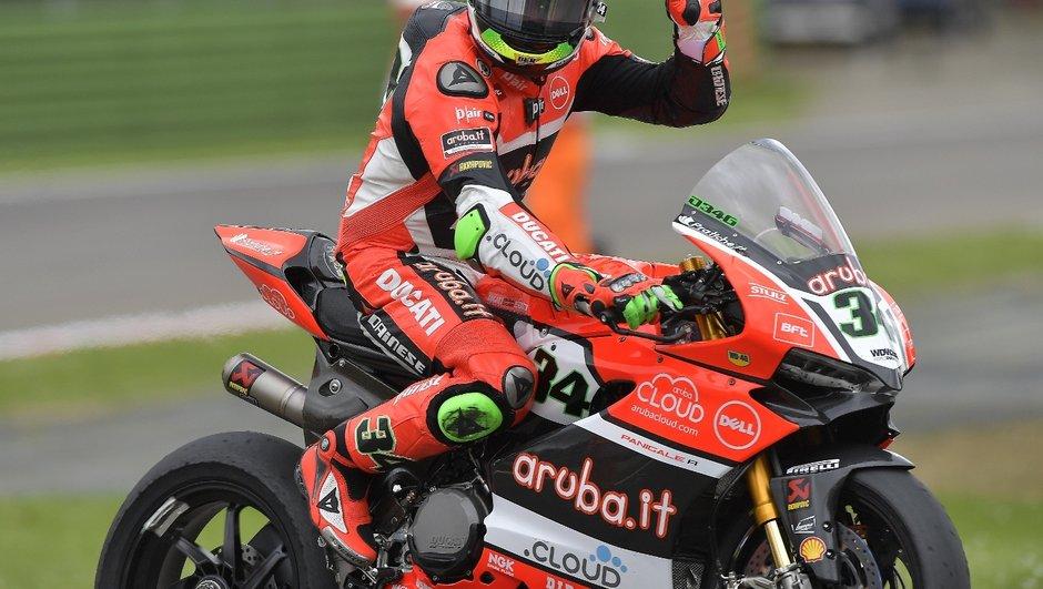 SBK : Un doublé pour Chaz Davies et Ducati à Imola