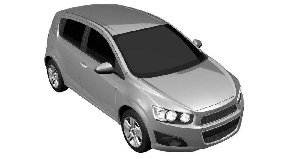 Nouvelle Chevrolet Aveo 2010 : premières images en exclusivité !