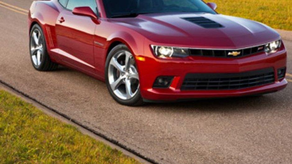 Salon de New York 2013 : la Chevrolet Camaro restylée déjà révélée
