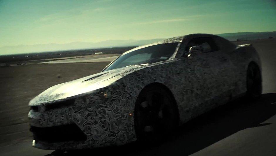 Future Chevrolet Camaro 2016 : préfigurée avant le Salon de New York