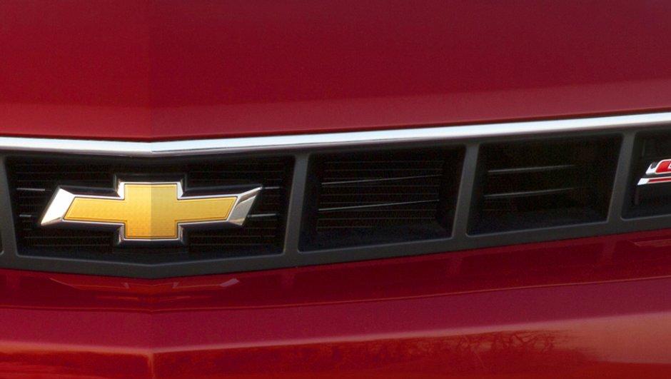Salon de New York 2013 : la Chevrolet Camaro restylée pointe son nez