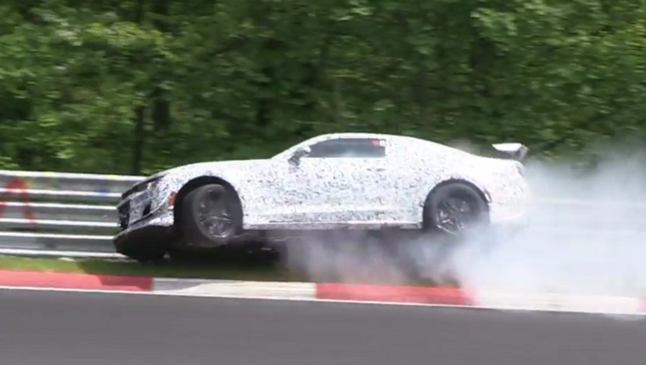 Vidéo Insolite : La future Chevrolet Camaro Z/28 se plante au Nürburgring