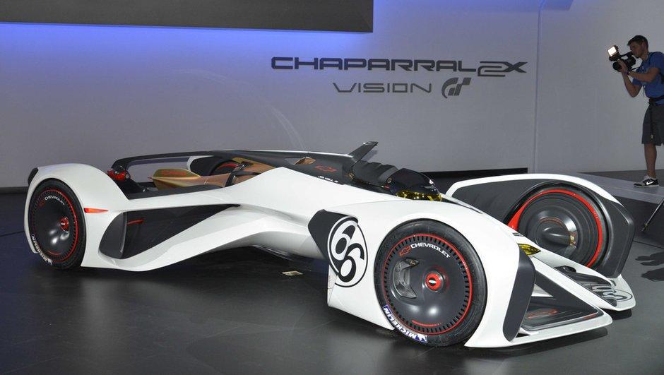 Chevrolet Chaparral 2X Vision Gran Turismo : futuristiquement démente